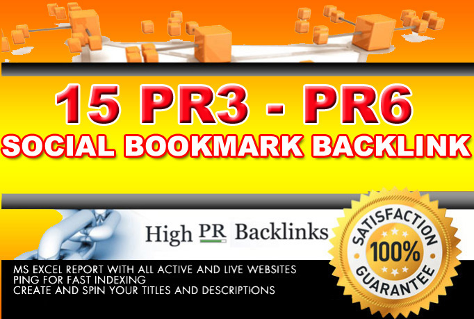submit your site to 15 pR 3 to Pr 6 sites for manually
