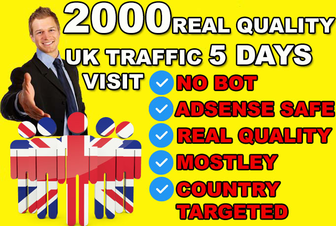 Send UK ORGANIC Visitors To Your Website