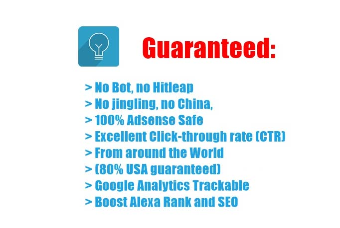 drive genuine usa real traffic to your website