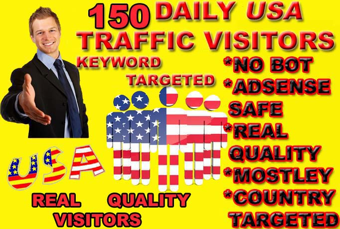drive real Quality usa Visitors to your website