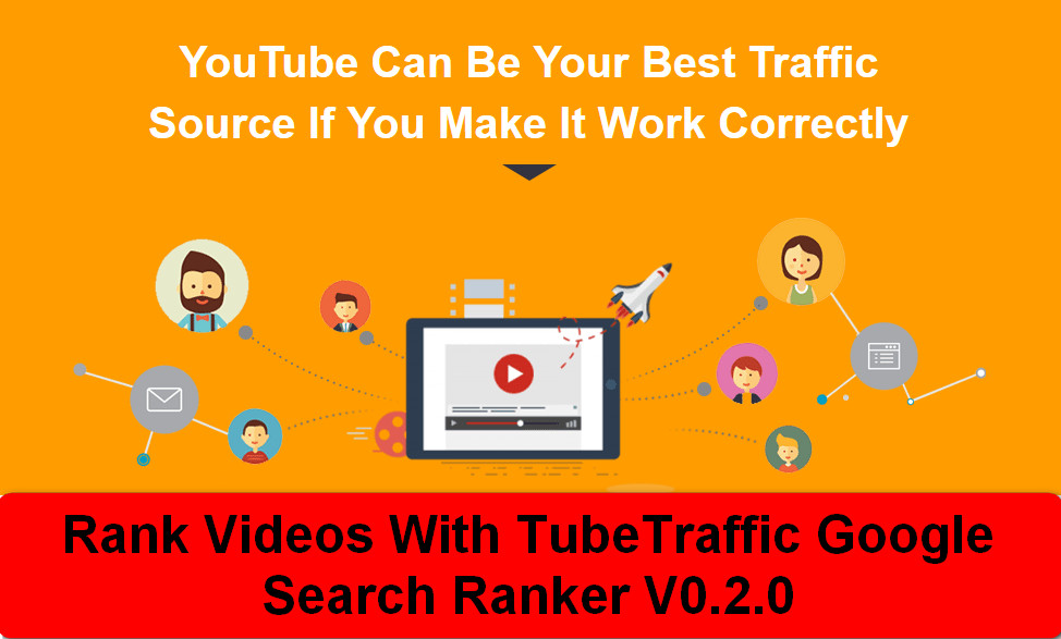 Search Ranker BOT v0.2 - Rank your youtube video or website in Google search