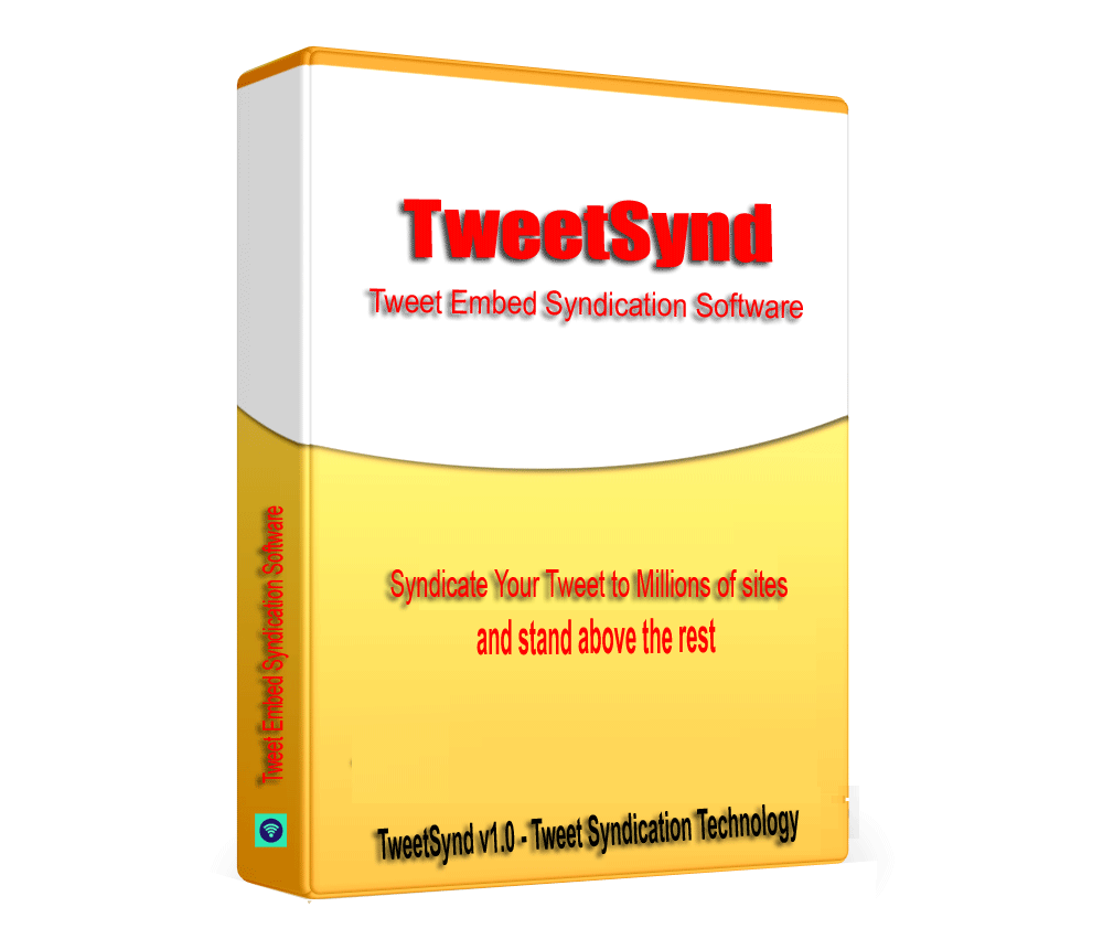TweetSynd - Tweet Embed Syndication Software V1.0.1