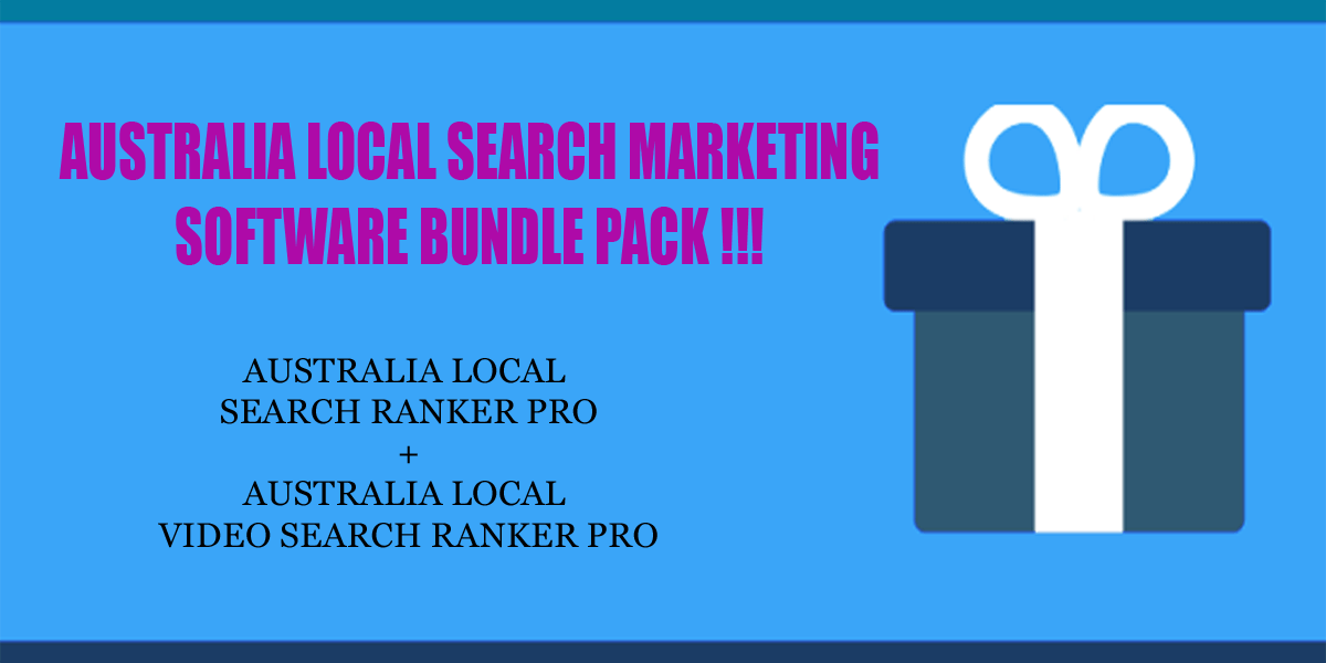 Australia local search ranker software bundle pack