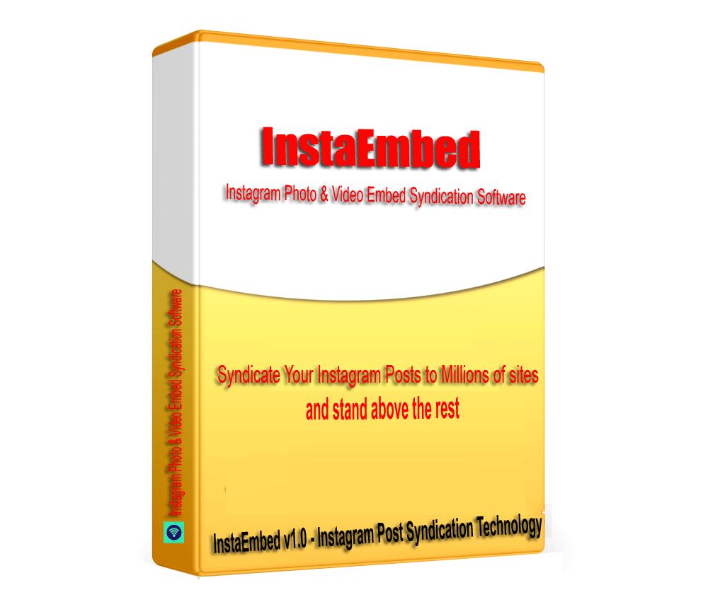 InstaEmbed - Instagram Posts & Video Embed Syndication Software V1.0.1