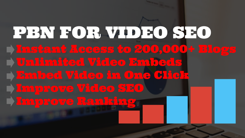 PBN Pro - EARN MONEY BY RESELLING YOUTUBE VIDEO EMBEDS to over 200,000+ blogs