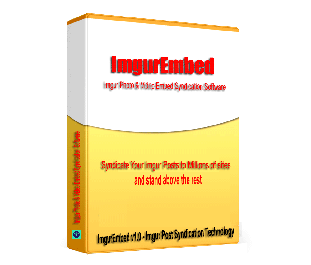 ImgurEmbed - Imgur Photo & Video Embed Syndication Software V1.0.1