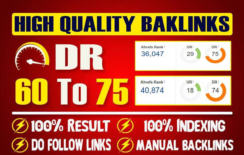 Provide 10 DoFollow High Authority PBN Backlinks DR 60-75