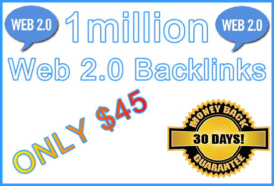 1million SEO Ultra-Safe GSA SER Web 2.0 Submitted Backlinks