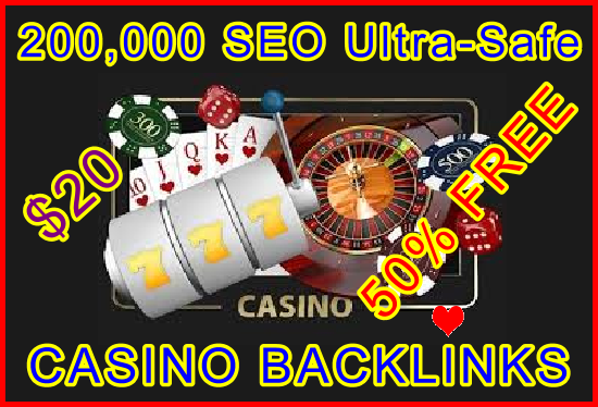 200.000 SEO Ultra-Safe GSA SER Casino Backlinks