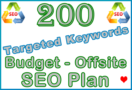 Target 200 Keywords with Offsite SEO Importance