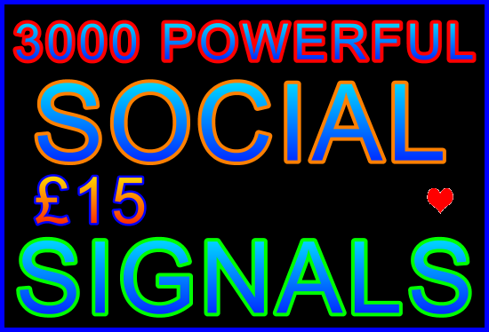Drive over 3,000 Social Signals to Your URL