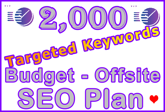 2,000 Longtail Type Keywords Research