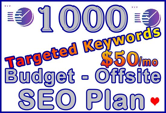 Target 1,000 Keywords Budget - Offsite SEO