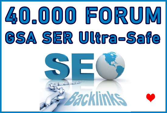 40.000 Forum Profiles GSA SER HQ Backlinks