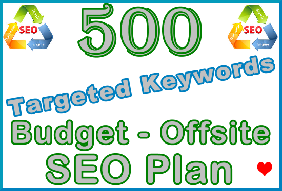 Target 500 Keywords with Offsite SEO Importance