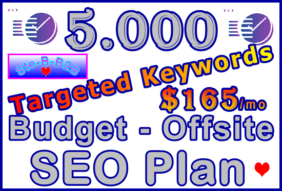 Target 5,000 Keywords Budget - Offsite SEO