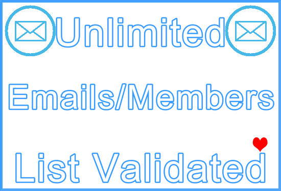 Email/Member List Unlimited Verification with Premium Paid Tools