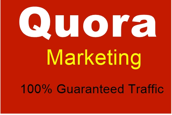 Offer 10 quora answers for guaranteed targeted traffic