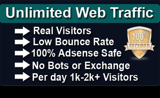 Unlimited Human Visitors Low Bounce Rate By Google YouTube Instagram Twitter Facebook