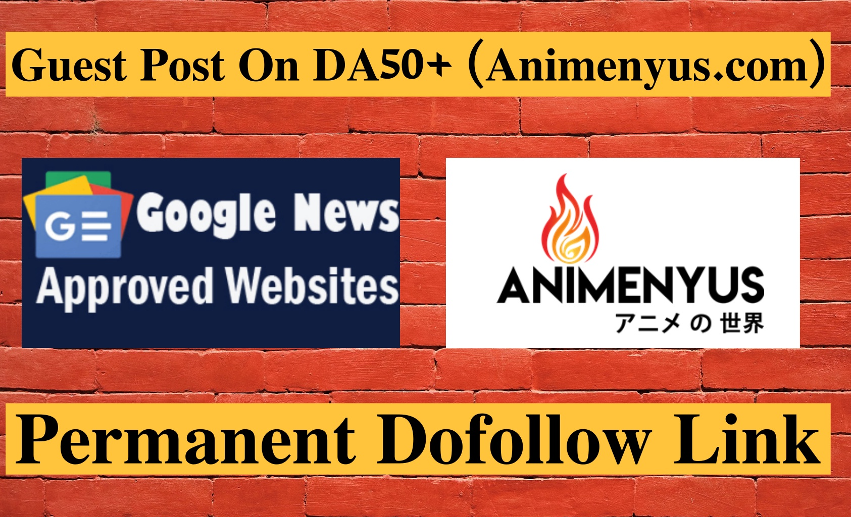 I will submit dofollow guest post on da 50 plus sites