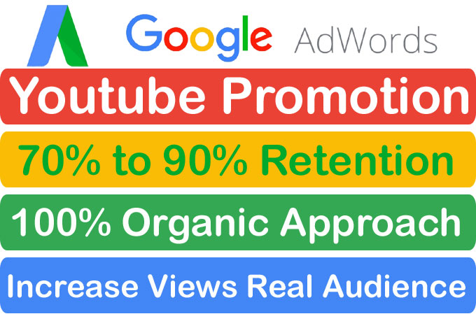Fast Organic Youtube Video Promotion and marketing Via Google Adwords