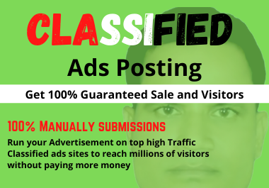 Post Your Ads Classified Sites Manually