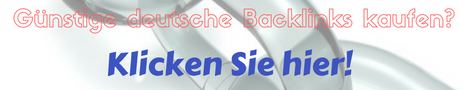 German Backlinks - Permanent,  Quality,  Dofollow & Affordable Blog & Directories