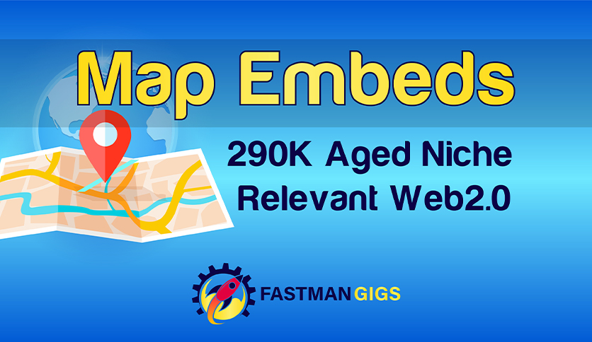 230 Google Maps embeds and Backlinks - Local SEO