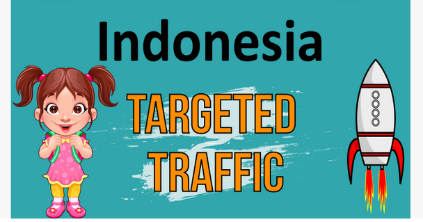 Targeted Indonesia Visitors Real Traffics To Your Site for ONE MONTH
