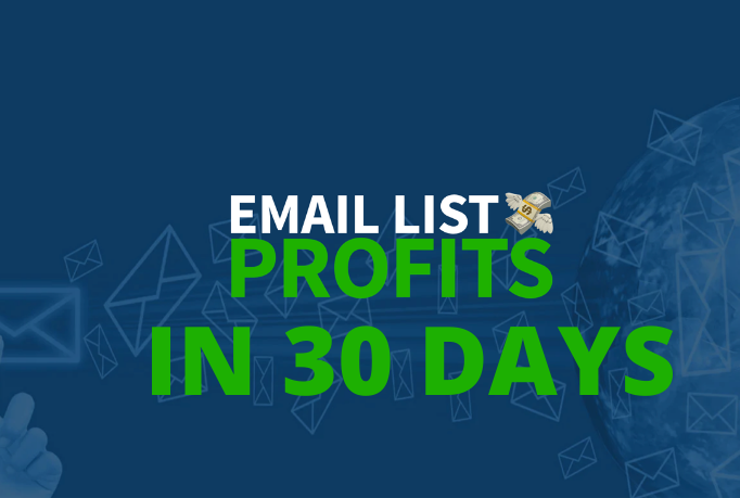Generate Massive Profits & Sales With Your Own Responsive Email List in 30 days