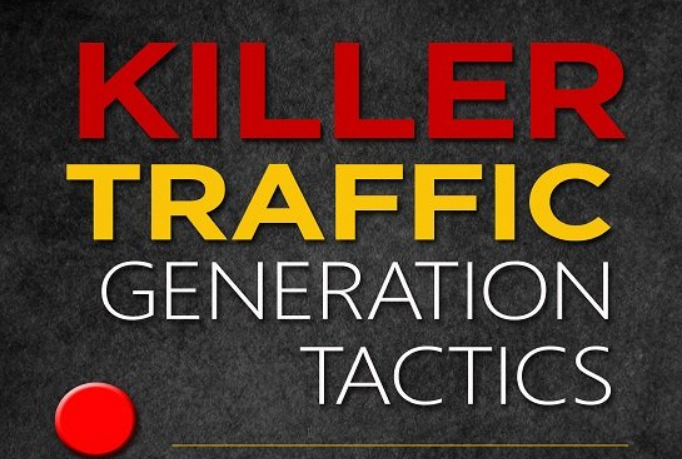 Massively increase your sales with traffic generation tactics