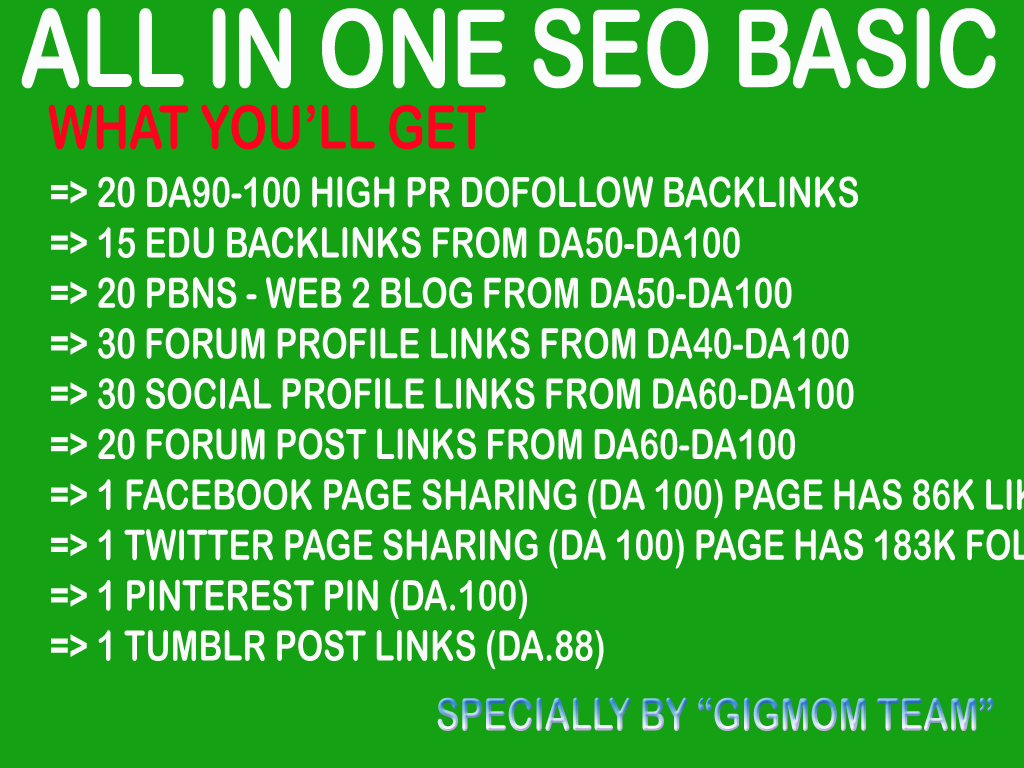 All in One SEO Basic to Boost Search Engine Results - Buy 3 Get 4