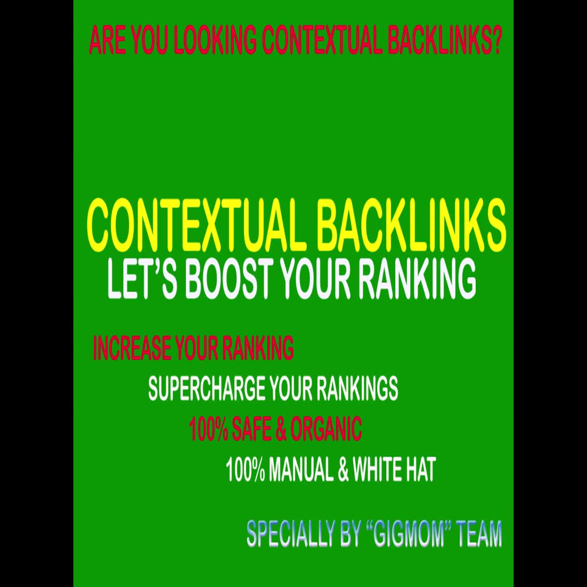 Unique 100 Contextual Backlinks to Rank Higher - SEOclerks Marketplace