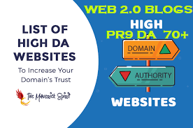 WEB 2.0 Blogs Safe SEO High DA 70 PR9 Backlnks Latest 2020 UPDATE