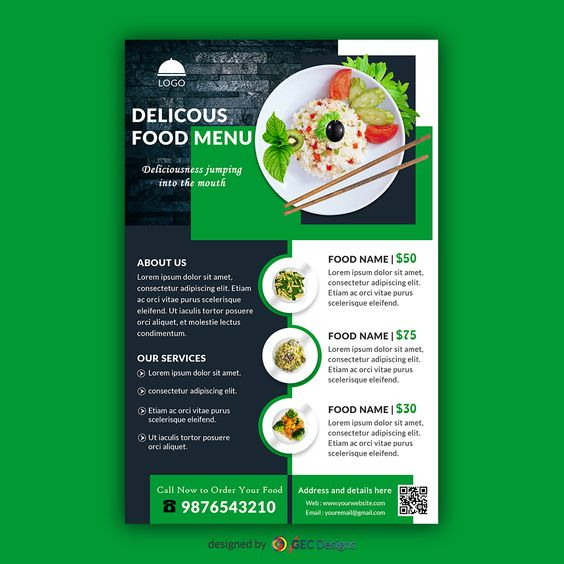 I will design Professional High Quality Flyer Poster