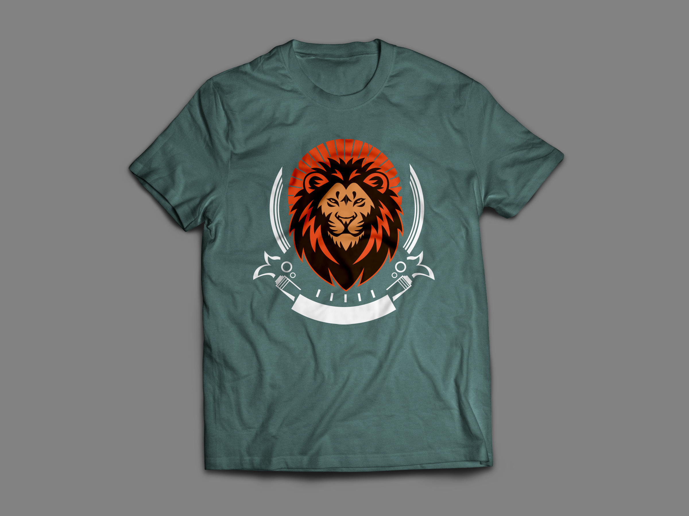 I will eye caching tshirt design use embroidery or print