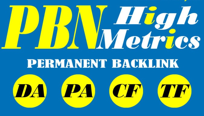 50 Powerful Dofollow PBN Backlinks High DA PA TF CF