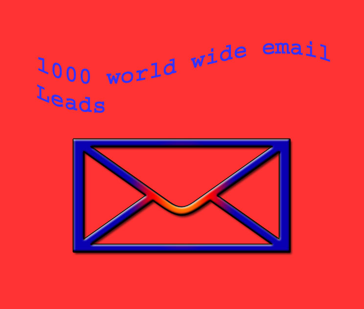 1000 World wide email For Your Brand Business By Email marketing