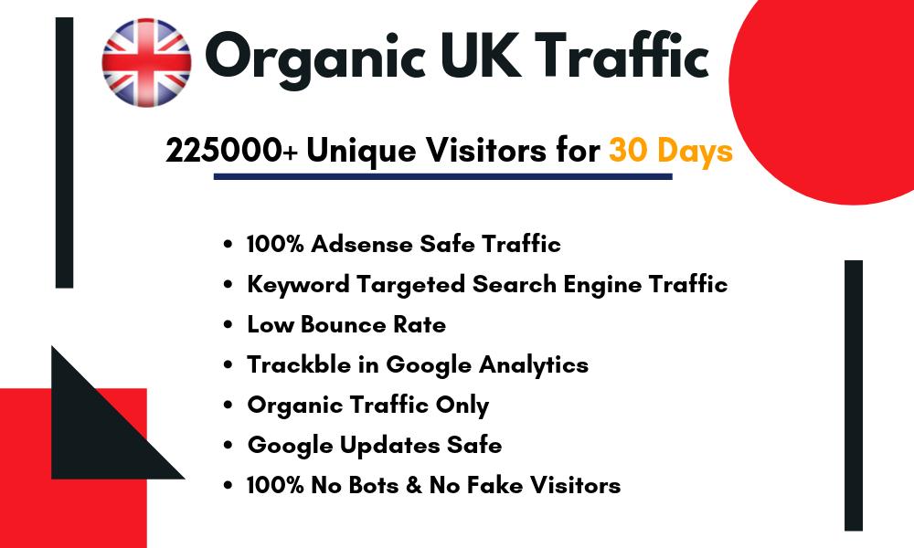 Drive keyword targeted organic UK traffic
