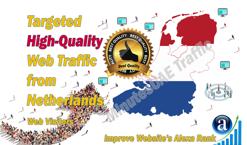 Dutch web visitors real targeted high-quality web traffic from Netherlands