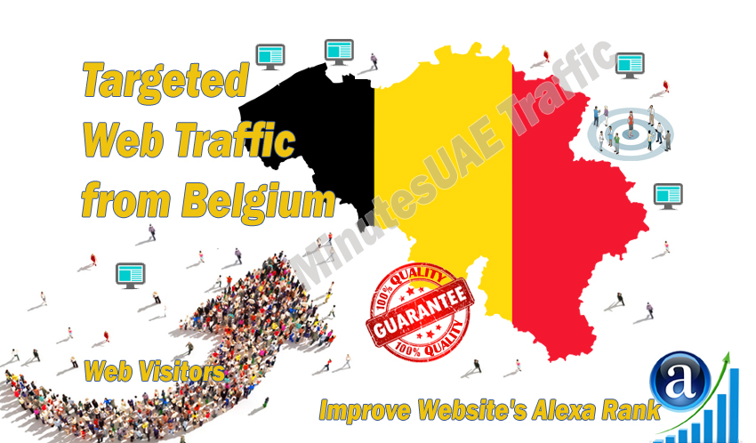 Belgian web visitors real targeted high-quality web traffic from Belgium