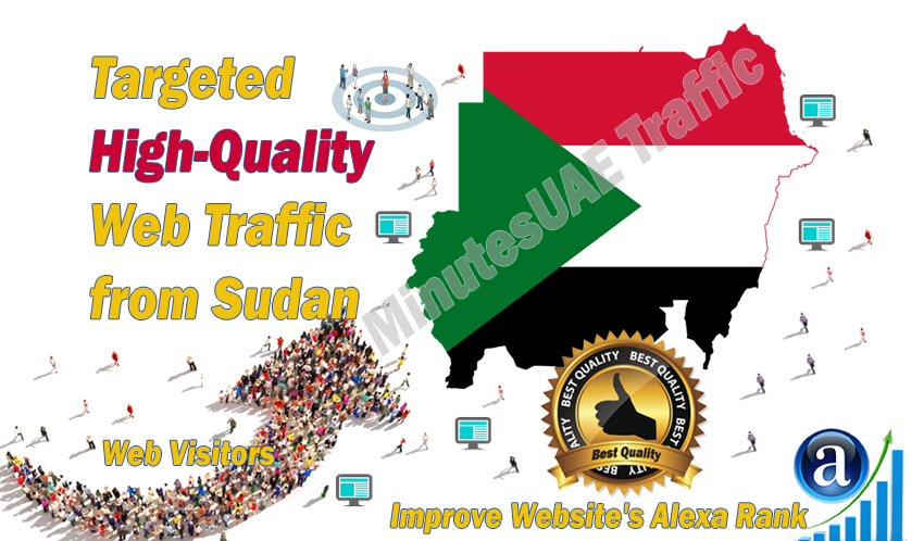 Sudanese Web Visitors Real Targeted High Quality Traffic From Sudan For 10