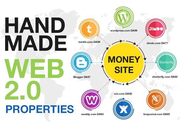 10 Handmade Web 2.0 Blogs with Login Details Plus Free 5 High DA Profile Backlinks