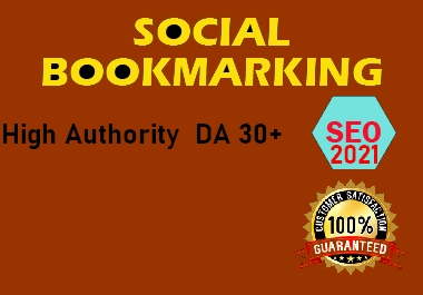 Bookmark your site to 40 Social bookmarking sites DA30+