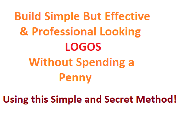 Give You Secret Method to Design Logos without Paying a Penny
