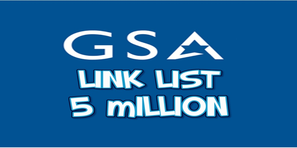 GSA SER Verified list of 5 Million