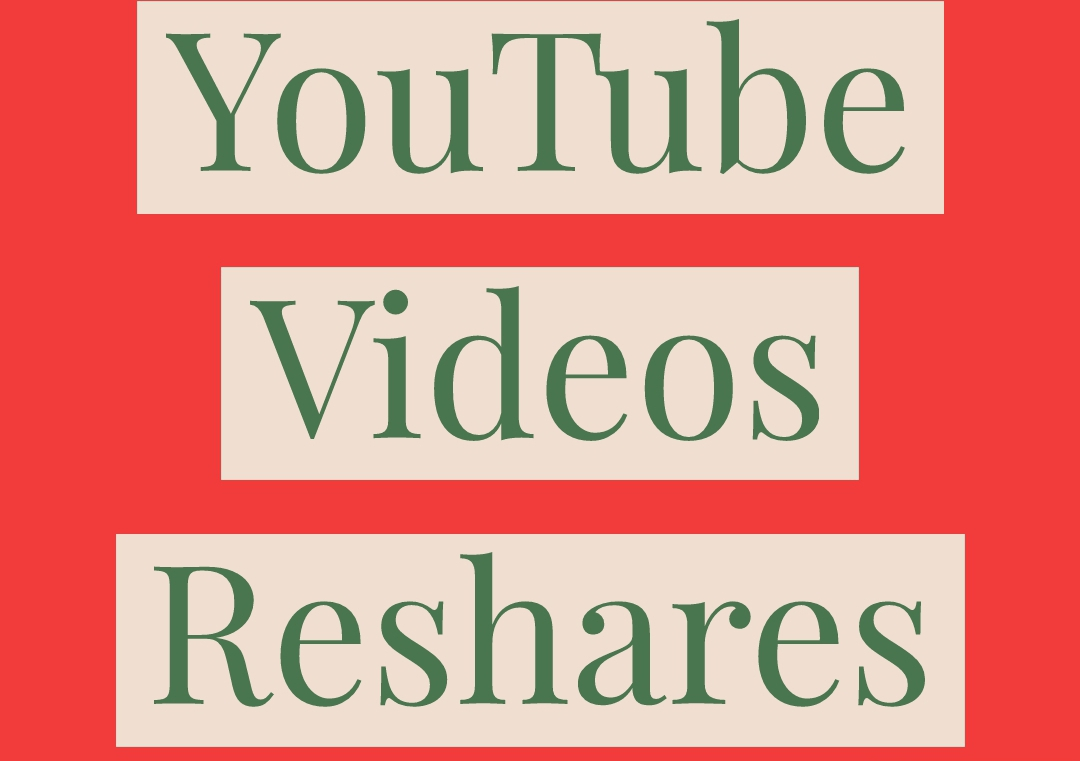I will reshare your YouTube videos on Social Media to boost massive organic traffic