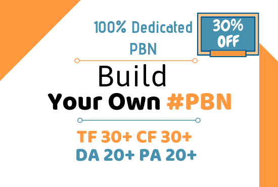 3 Dedicated pbn sites to rank your site 1