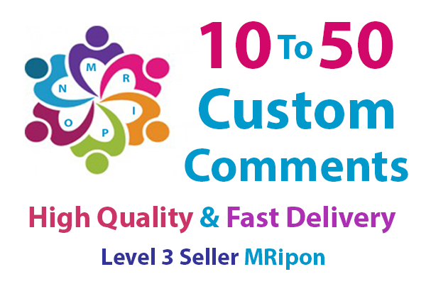Get Instant High Quality Posts Custom Comments