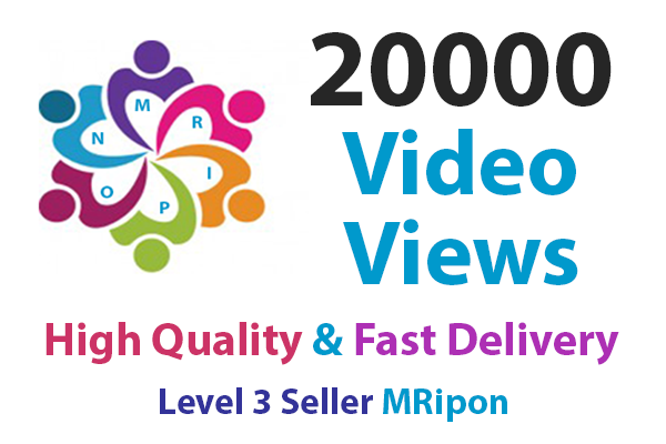 Get Instant High Quality Non-Drop Video Views